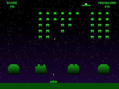 Invaders Screenshot